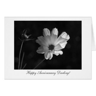Lighting The Cosmos - Happy Anniversary Greeting Card
