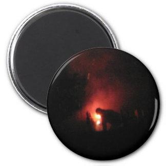 Lighting the Night 2 Inch Round Magnet