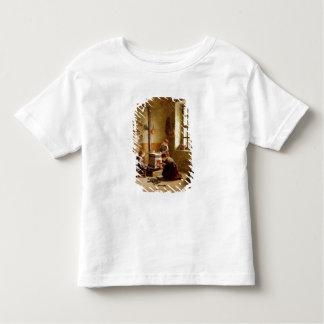 Lighting the Stove, 1886 (oil on panel) Toddler T-shirt