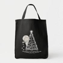 Lighting the Tree Tote Bag
