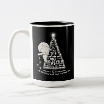 Lighting the Tree Two-Tone Coffee Mug