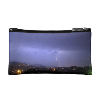 Lighting up the night cosmetic bags