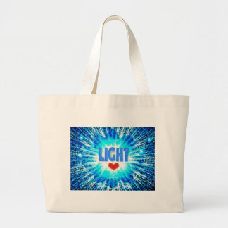 LIGHTLUV.jpg Tote Bags