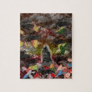 Lightly charmingly flower of four seasons jigsaw puzzle