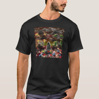 Lightly charmingly flower of four seasons T-Shirt