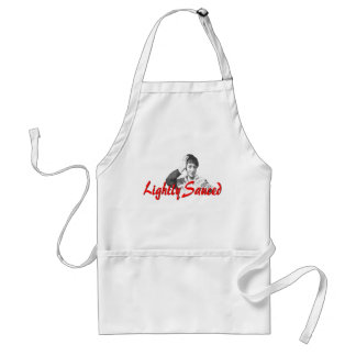 """Lightly Sauced"" Adult Apron"