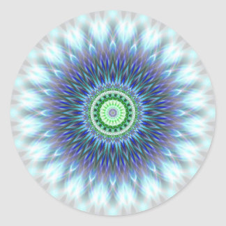 Lightmandala created by Tutti Classic Round Sticker