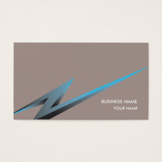 LIGHTNING3 BUSINESS CARD TAUPE