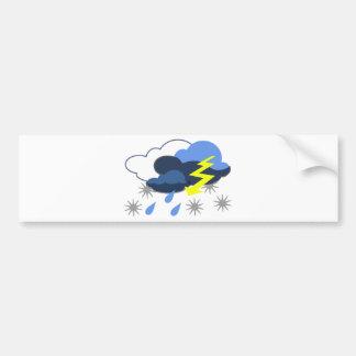 lightning-3113 car bumper sticker