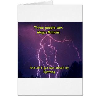 Lightning 3 card