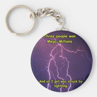 Lightning 3 keychain