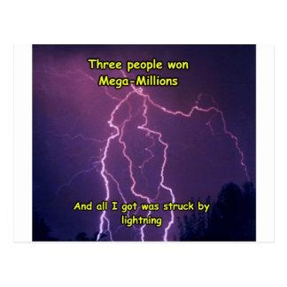 Lightning 3 postcard