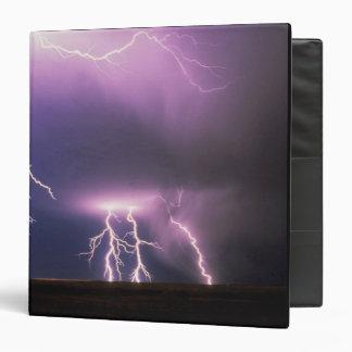 Lightning. 3 Ring Binder