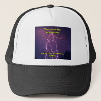 Lightning 3 trucker hat