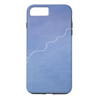 Lightning Across Glass Building iPhone 8 Plus/7 Plus Case