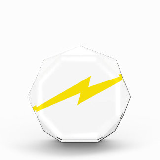 Lightning Bolt Acrylic Award