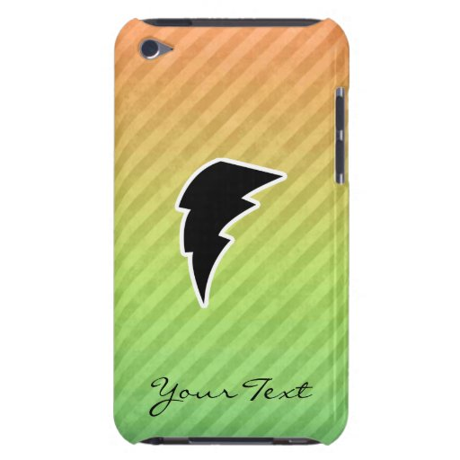 Lightning Bolt Barely There iPod Cases