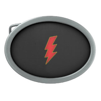 lightning bolt belt buckle