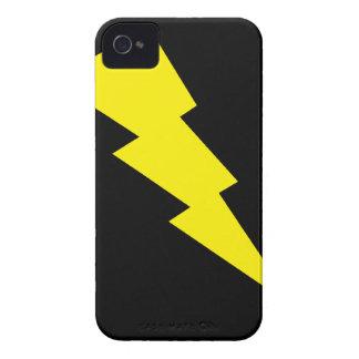 """""""Lightning Bolt"""" Blackberry Bold 9700/9780 iPhone 4 Cases"""
