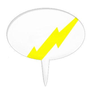 Lightning Bolt Cake Topper
