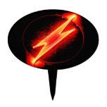 Lightning Bolt Cake Toppers