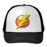 Lightning Bolt Cap Trucker Hat