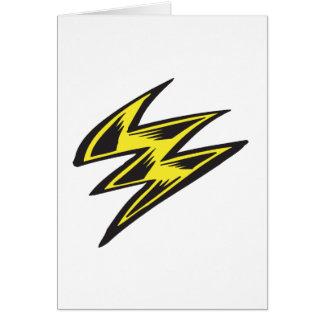 Lightning Bolt Card
