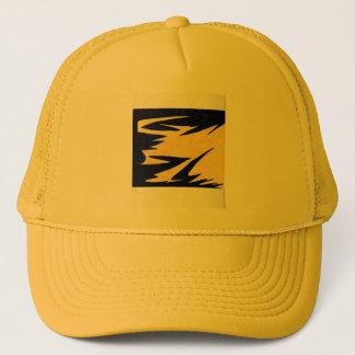 Lightning bolt design trucker hat