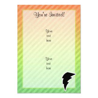 Lightning Bolt 5x7 Paper Invitation Card