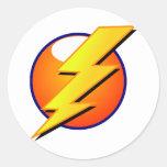 Lightning Bolt Large Sticker