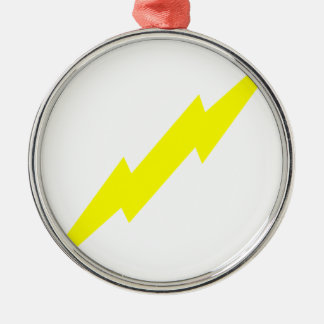 Lightning Bolt Metal Ornament