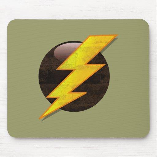 Lightning Bolt Mouse Pads