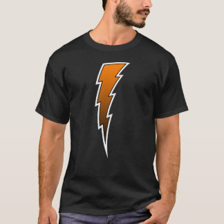 Lightning Bolt - Orange T-Shirt