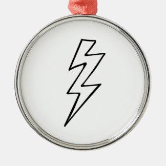 Lightning Bolt Christmas Ornaments