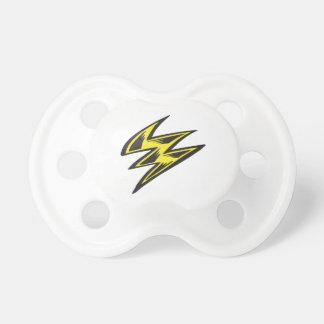 Lightning Bolt Pacifiers