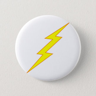 Lightning Bolt Pinback Button