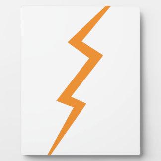 Lightning Bolt Plaque