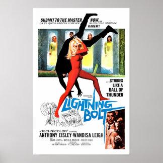 Lightning Bolt Print