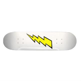 Lightning Bolt Sk8 Bord Skateboard