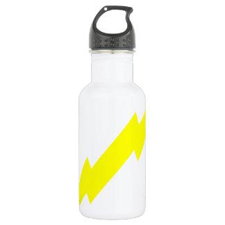 Lightning Bolt Stainless Steel Water Bottle