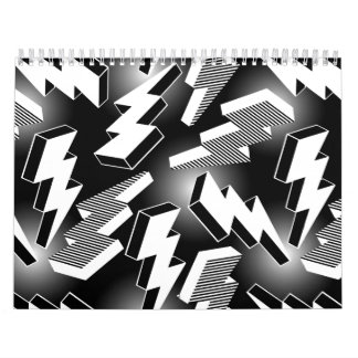 Lightning Bolts Calendar