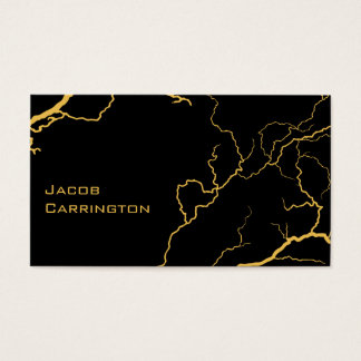 Lightning Bolts (Choose your color) Business Card