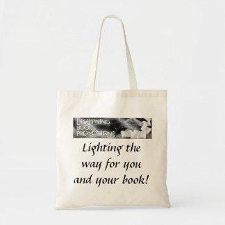 Lightning Book Promotions tot bag