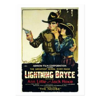 """Lightning Bryce"" Postcard"