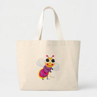 Lightning Bug Beach Bag