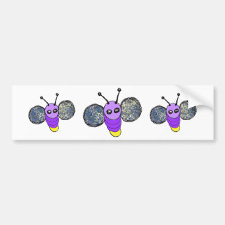 Lightning Bug Bumper Sticker