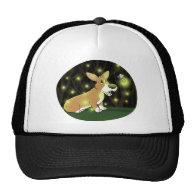 Lightning Bug Corgi Hats