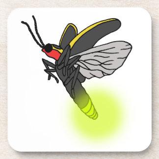 lightning bug flight 2 lit drink coaster