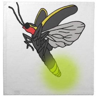 lightning bug flight 2 lit napkin