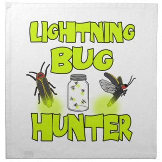 lightning bug hunter cloth napkin